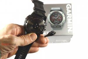 Зарядный кабель для часов Garmin fenix 5X