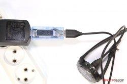 Зарядка часов Fenix 5X через преобразователь 220В - USB