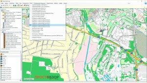 Пример топокарты OpenStreetMap
