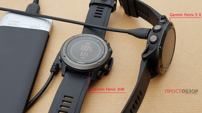 Зарядные площадки часов  Garmin Fenix 5X - Fenix 3 HR
