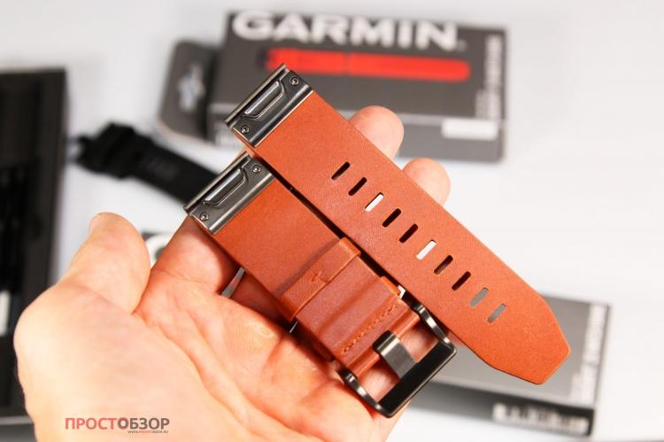 Вид сзади - Кожаный ремешок QuickFit 26 Watch Bands