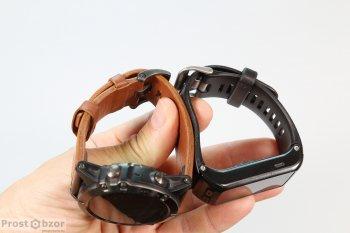 Сравнение двух ремешков Garmin Fenix 5X vs Apple Smart Watch Series 1