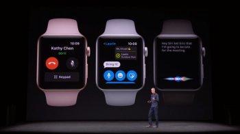 Встроенный телефон - Презентация новой модели часов Apple Smart Watch Series 3