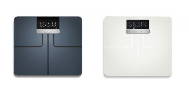 Цветовые решения умных весов Garmin Index