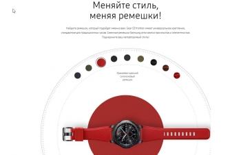 Ремешки от Samsung для часов Gear S3 Frontier