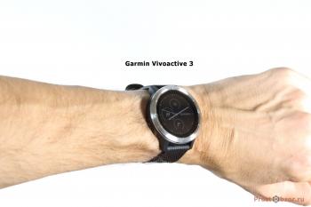 Часы Garmin Vivoactive 3 на руке