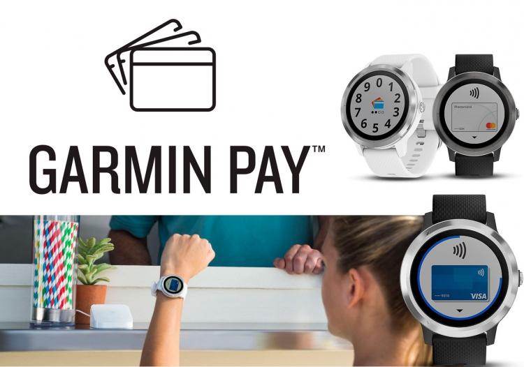 Сервис оплаты Garmin Pay