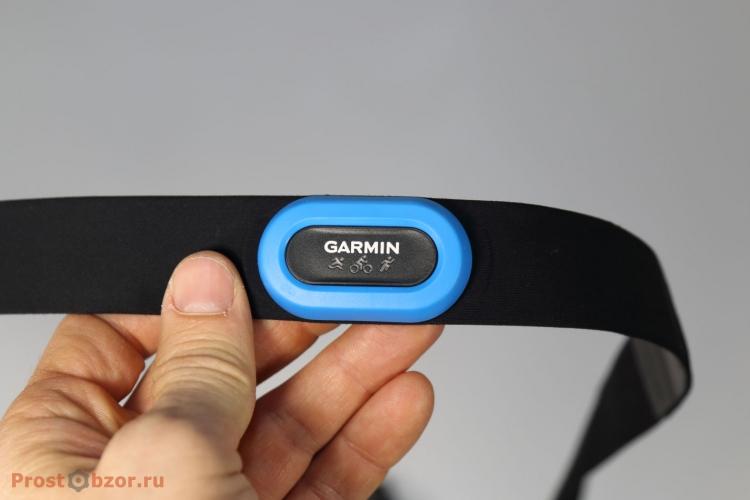 Пульсометр для триатлона (плавание, бег, вело, зал) Garmin HRM-Tri