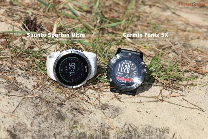Как установить часы Suunto Spartan Ultra и Fenix 5X