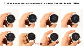 Данные активностей часов Suunto Spartan Ultra