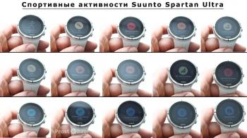 Спортивные программы в часах Suunto Spartan Ultra