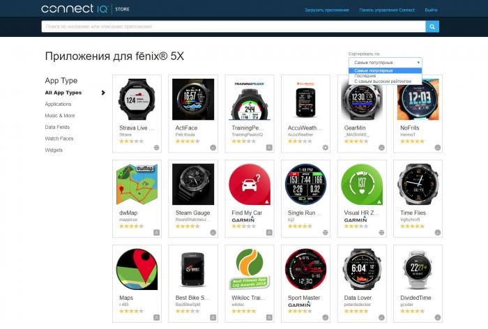 Connect IQ - бесплатный каталог приложений, дата-полей и циферблатов от Garmin