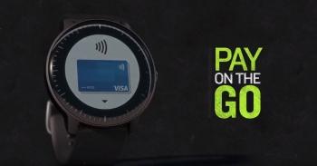 Оплата часами Garmin Pay в часах Vivoactive 3 Music