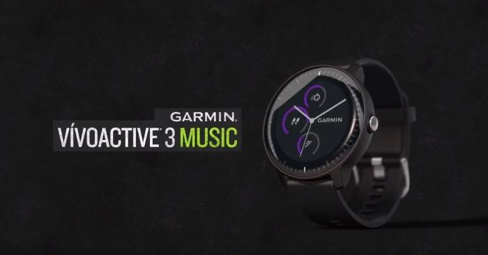 Вышли новые часы Garmin Vivoactive 3 Music