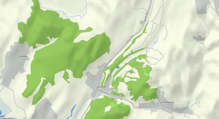 Активная топо-карта