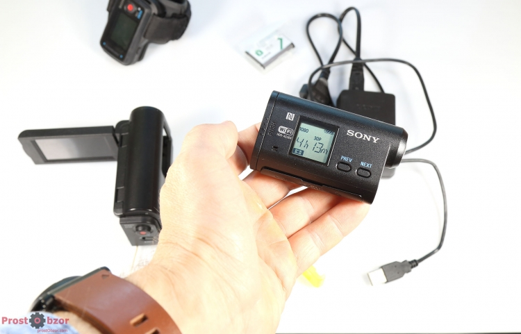 экшн-камера SONY HDR-AS30VW
