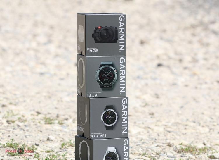 Распаковка экшн-камеры Garmin Virb 360