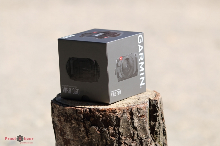 Коробка экшн-камеры Garmin Virb 360