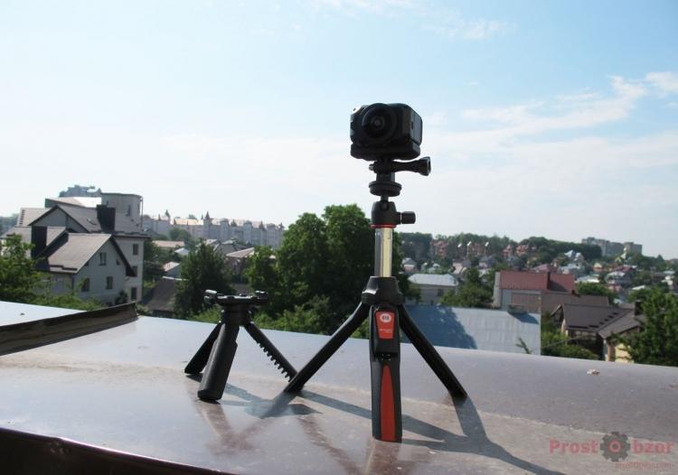 Использования крепления типа GoPro для камеры  Virb 360