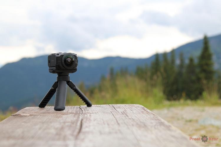 Объективы экнш-камеры Garmin Virb 360