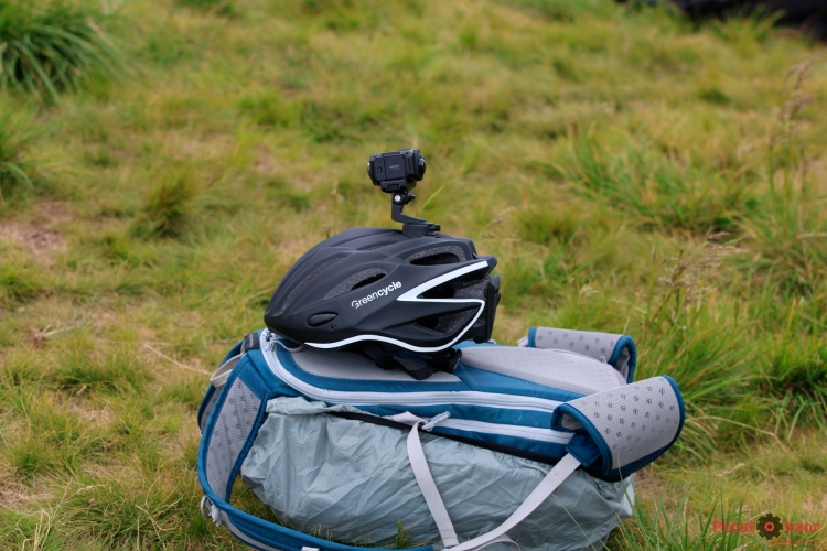 Крепление экшн-камеры Garmin Virb 360 на шлем