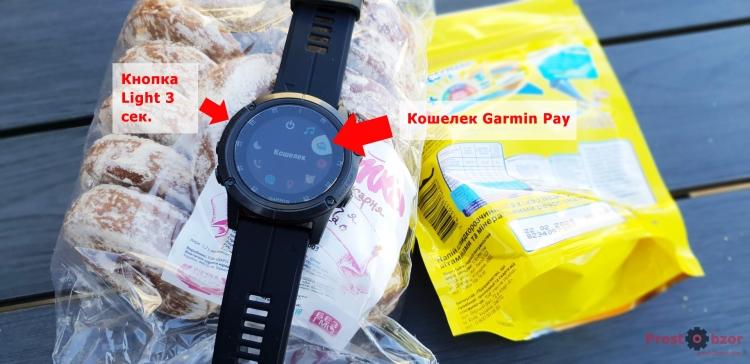 Как работает Кошелек Garmin Pay в часах Garmin 5X Plus