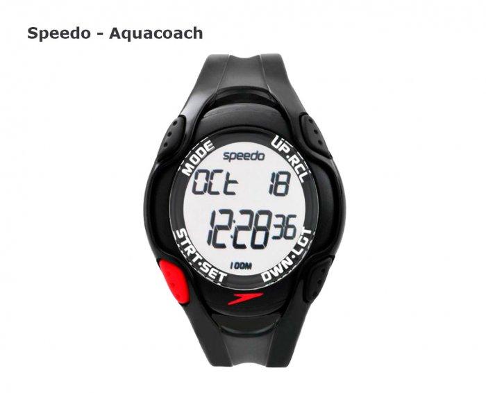часы для плаванья и бассейна speedo-aqucoach