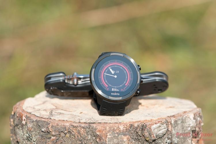 Внешний дизайн часов Suunto Baro 9 Black
