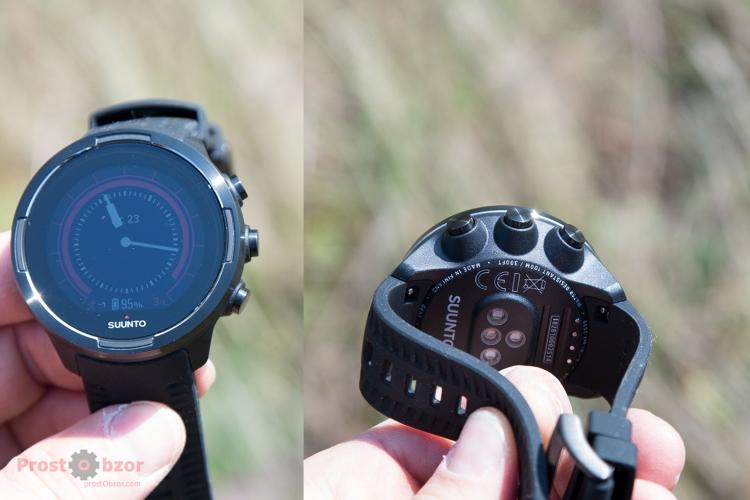 Кнопки часов Suunto 9 Baro -крупный вид