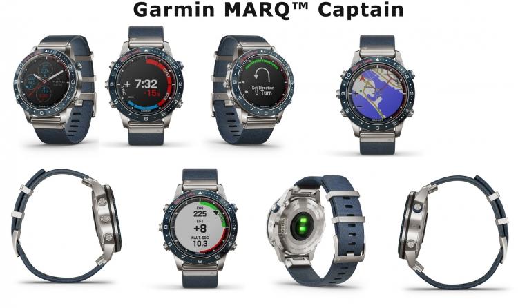 Внешний вид часов Garmin MARQ Captain