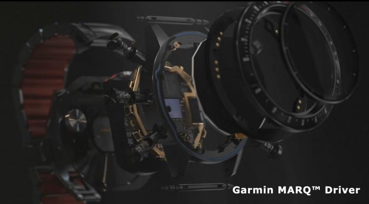 Составляющие часов Garmin MARQ Driver