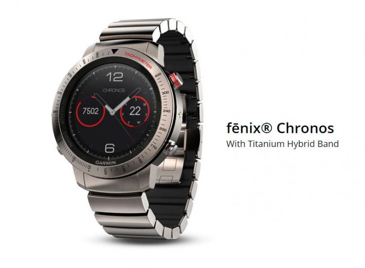 Премиум модель часов Garmin Chronos