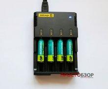 Зарядное устройство в работе - Intellicharger