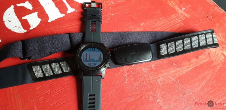 Нагрудный пульсометр Garmin HRM-Dual  для тренировки в залах - гири, кольца, бокс