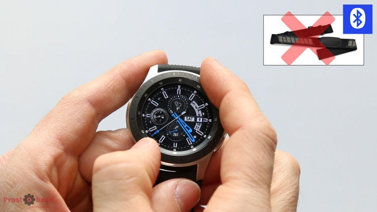Sasmung Galaxy Watch 46mm не поддерживает Bluetooth пульсометры