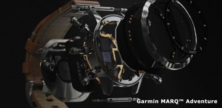 Из чего состоит модель Garmin MARQ Adventure