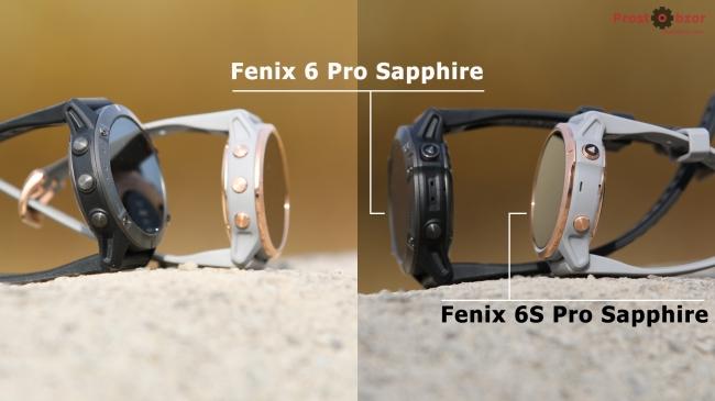 Кнопки часов Fenix 6 - 6S