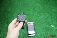 Управление музыкой через часы Garmin Fenix 3 по Bluetooth