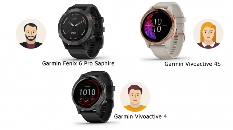 Что купить семье из часов Garmin