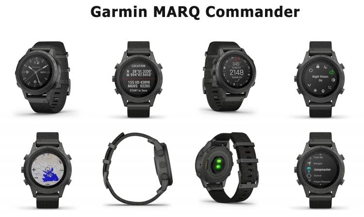 Дизайн часов и интерфейс Garmin MARQ Commander