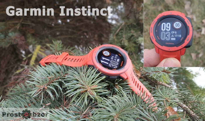 Обзор часов Garmin Instinct Tactical Edition