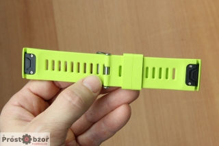 Внешний вид ремешка EasyFit 26 mm для часов Garmin Fenix 6X вид сзади