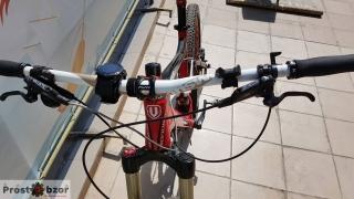 Вело крепление на руль для часов Garmin - вид спереди