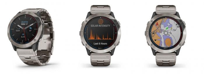 Внешний вид часов Garmin Quatix 6X Solar