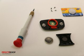 Замена батарейки в кардиомониторе Garmin