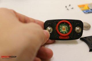 Контакты для аккумулятора в HRM-RUN