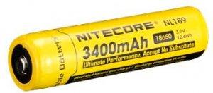 Li-Ion 18650 Nitecore 3.7V (3400mAh)