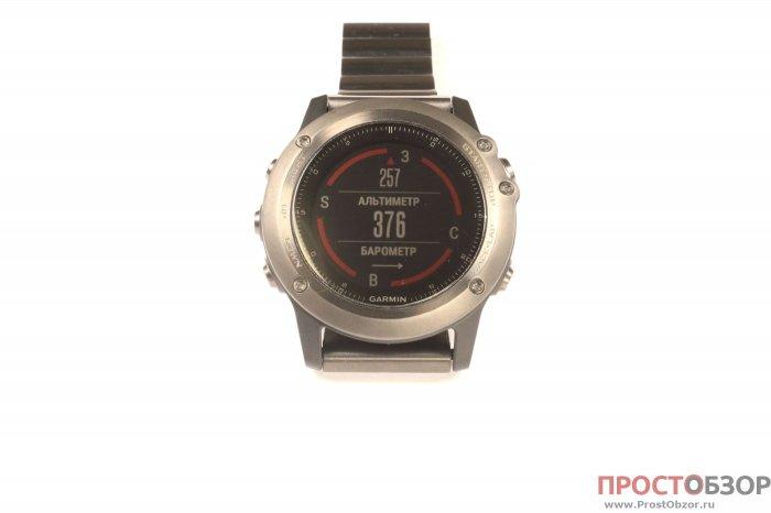 ABC виджет - компас, барометр, альтиметр по кнопке Start для Fenix 3