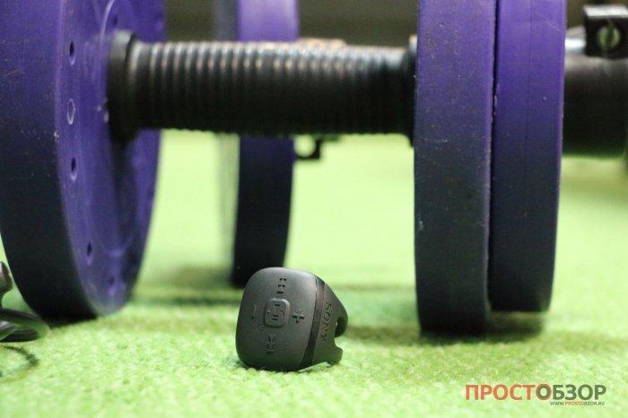 Перстень управления для MP3 плеера Sony Walkman NWZ-WS613 и гантели