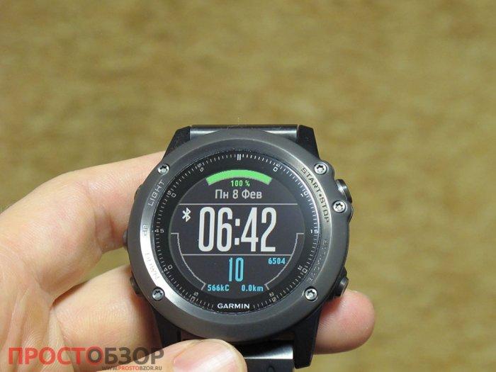 Циферблат часов Fenix 3 - X-WF